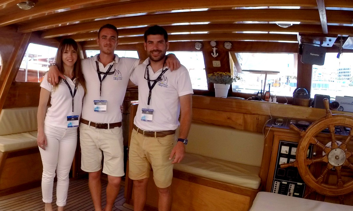 Meals on Greek yacht charters